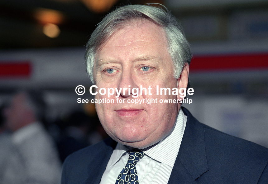 Roy Hattersley, MP, Labour Party, UK, 1990101006.<br />