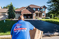 Twin Cities Heating and Air Repair AC Furnace Photographer