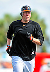 14 March 2009: Baltimore Orioles' first baseman Aubrey Huff runs the bases prior to a Spring Training game against the Boston Red Sox at Fort Lauderdale Stadium in Fort Lauderdale, Florida. The Orioles defeated the Red Sox 9-8 in the Grapefruit League matchup. Mandatory Photo Credit: Ed Wolfstein Photo