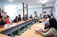 Cl&uacute;ster Minero de Sonora da a conocer el programa del 1er. Foro Internacional de Seguridad Integral en Miner&iacute;a .<br /> <br /> Este es un tema de alta relevancia en la promoci&oacute;n de las buenas pr&aacute;cticas en el sector minero.<br /> Rueda de prensa ofrecida ante medios por la Directora de Cl&uacute;ster Minero de Sonora, Dra. Margarita Bejarano y el Presidente de la Comisi&oacute;n de Seguridad de Cl&uacute;ster Minero, Ing. Omar Blasco. 06abril2018 <br /> (Photo:Luis Gutierrez/ NortePhoto.com)<br /> <br /> pclaves: reporteros, empresarial, rueda de prensa