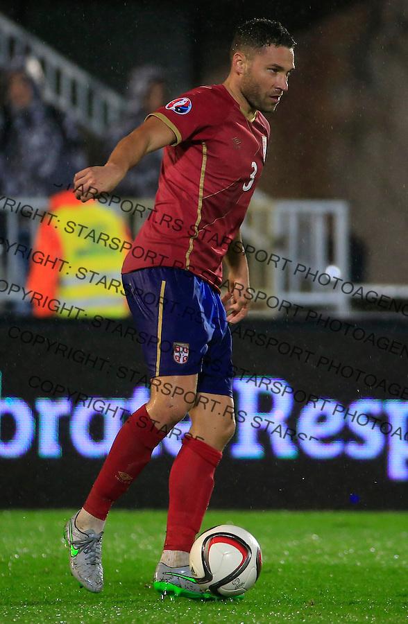 Fudbal, kvalifikacije za UEFA EURO 2016 qualifiers-Qualifying round - Group I<br /> Srbija v Portugal<br /> Dusko Tosic<br /> Beograd, 11.10.2015.<br /> foto: Srdjan Stevanovic/Starsportphoto &copy;