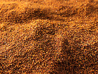 Fresh ground hot Paprika powder