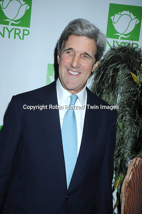Senator John Kerry attending the 15th Annual  Hulaween Benefit Gala at the Waldorf Astoria Hotel in New York City on October 29, 2010..The gala benefits Bette Midler's New York Restoration Project.