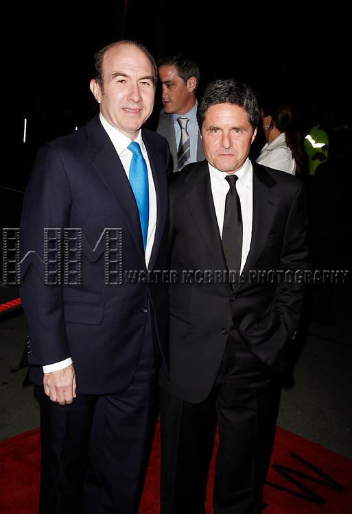 Philippe Dauman and Brad Grey attending the Toronto International Film Festival Gala Preniere of Babel at the Roy Thomson Hall.<br />September 9, 2006 in Toronto, Canada.