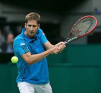10-02-14, Netherlands,Rotterdam,Ahoy, ABNAMROWTT,Florian Mayer(GER)<br /> Photo:Tennisimages/Henk Koster