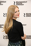 Anna Baryshnikov attends the press photo call for the Roundabout Theatre Company's production of  'Time and the Conways' at The Roundabout Theatre Studios on August 24, 2017 in New York City.