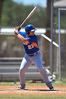 New York Mets Vicente Lupo (27) during a minor league spring training game against the Miami Marlins on March 30, 2015 at the Roger Dean Complex in Jupiter, Florida.  (Mike Janes/Four Seam Images)