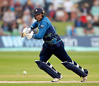 Alex Blake bats for Kent during the Royal London One Day Cup game between Kent and Glamorgan at the St Lawrence Ground, Canterbury, on May 25, 2018