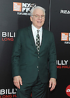 NEW YORK, NY - OCTOBER 14:  Actor Steve Martin attends the 54th New York Film Festival 'Billy Lynn's Long Halftime Walk' screening at AMC Lincoln Square Theater on October 14, 2016 in New York City. Photo by John Palmer/ MediaPunch