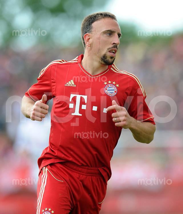 Fussball 1. Bundesliga :  Saison   2011/2012   Freundschaftsspiel  15.05.2011 FC Bayern Muenchen - Kreis Dueren Auswahl Franck Ribery (FC Bayern Muenchen)
