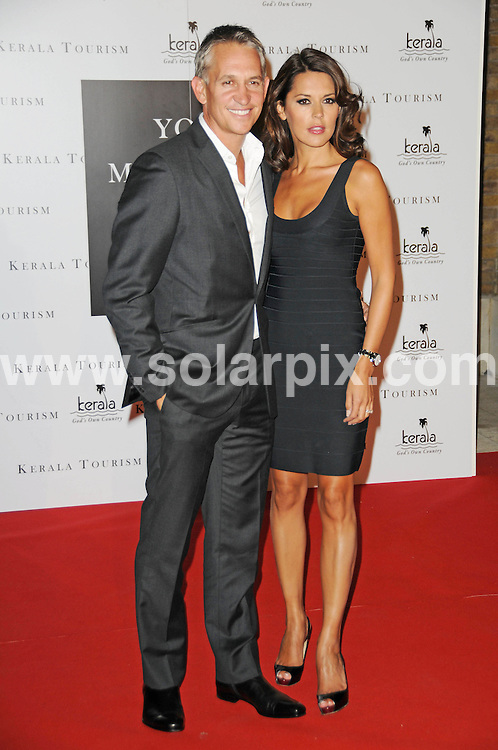 **ALL ROUND PICTURES FROM SOLARPIX.COM**                                             **WORLDWIDE SYNDICATION RIGHTS**                                                                                  Caption:  Tuesday, September 21 2010.Your Moment Is Waiting - launch party at the .The Saatchi Gallery, Duke Of York's HQ, London, UK. 21 September 2010.                                                                             This pic: Gary Lineker and Danielle Lineker                                                                                         JOB REF: 12166 MSR       DATE: 21_09_2010                                                           **MUST CREDIT SOLARPIX.COM OR DOUBLE FEE WILL BE CHARGED**                                                                      **MUST AGREE FEE BEFORE ONLINE USAGE**                               **CALL US ON: +34 952 811 768 or LOW RATE FROM UK 0844 617 7637**