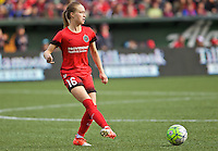 Portland, Oregon - Sunday October 2, 2016: Portland Thorns FC defender Emily Sonnett (16) during a semi final match of the National Women's Soccer League (NWSL) at Providence Park.
