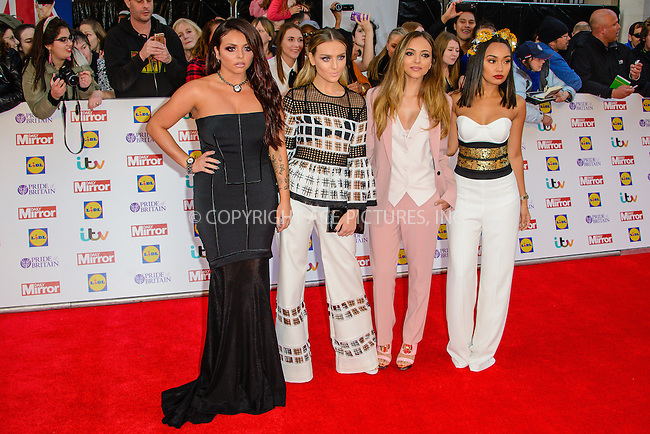 WWW.ACEPIXS.COM<br /> <br /> September 28 2015, London<br /> <br /> Little Mix attending The Pride Of Britain Awards 2015 at Grosvenor Hotel on September 28 2015 in London.<br /> <br /> By Line: Famous/ACE Pictures<br /> <br /> <br /> ACE Pictures, Inc.<br /> tel: 646 769 0430<br /> Email: info@acepixs.com<br /> www.acepixs.com