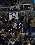 Nevada fans in the first half of their NCAA college basketball game against Little Rock in Reno, Nev., Friday, Nov. 16, 2018. (AP Photo/Tom R. Smedes)