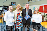 Supporting the RNLI Fundraising meal at the IT Tralee on Tuesday evening.<br /> L to r: Ciara Curtin, Martina and Mike McDonald (Tralee) and Gabriela Dabrowska.