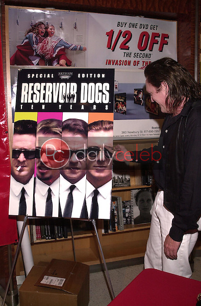 Michael Madsen expresses his opinion of co-star Tim Roth