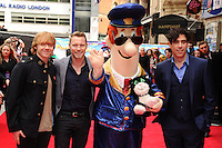 """Rupert Grint, Ronan Keating and Stephen Mangan arrives for the """"Postman Pat"""" premiere at the Odeon West End, Leicester Square, London. 11/05/2014 Picture by: Steve Vas / Featureflash"""
