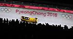19/02/2018 - 2-man bobsleigh - Olympic sliding centre - Alpensia - Pyeongchang2018 - Korea