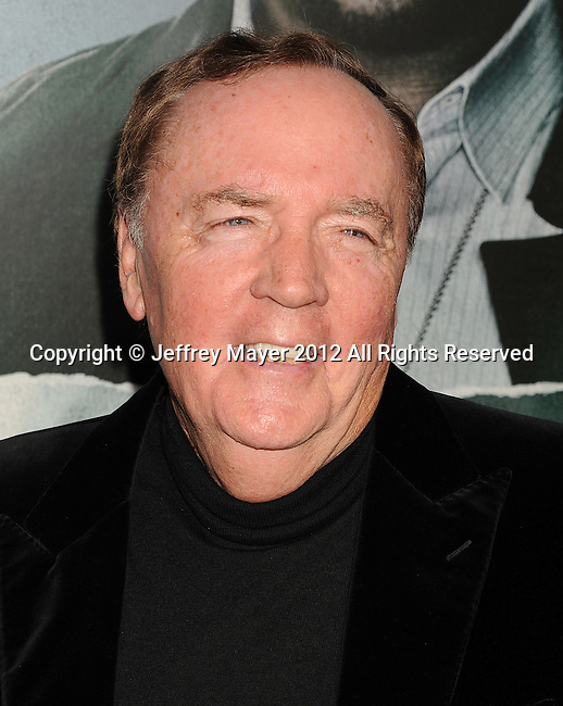 HOLLYWOOD, CA - OCTOBER 15: James Patterson arrives at the Los Angeles premiere of 'Alex Cross' at the ArcLight Cinemas Cinerama Dome on October 15, 2012 in Hollywood, California.
