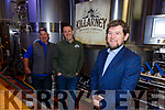 Tim O'Donoghue, Barry Spellman and Paul Sheahan Killarney Brewery