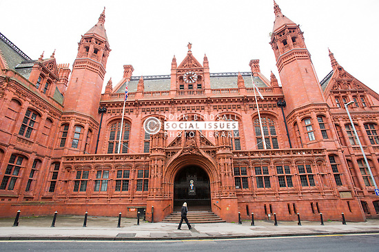 Entrance to Birmingham Magistrates court
