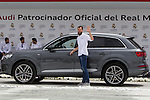 Sergio Rodriguez during the Audi Car delivery, at the basketball players of the Real Madrid. May 25,2016. (ALTERPHOTOS/Rodrigo Jimenez)