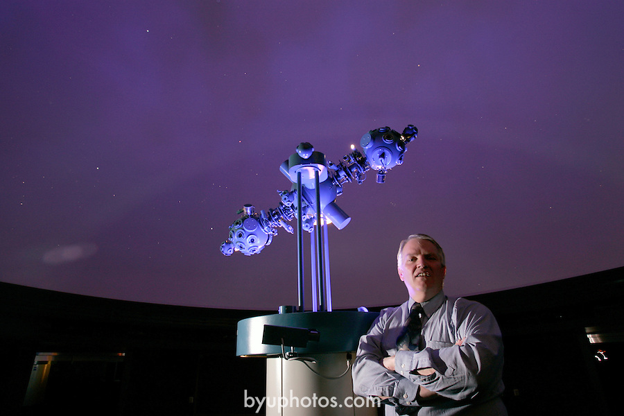 Dr. Joseph Moody.new Planetarium.March 24, 2005.Photography by Mark A. Philbrick