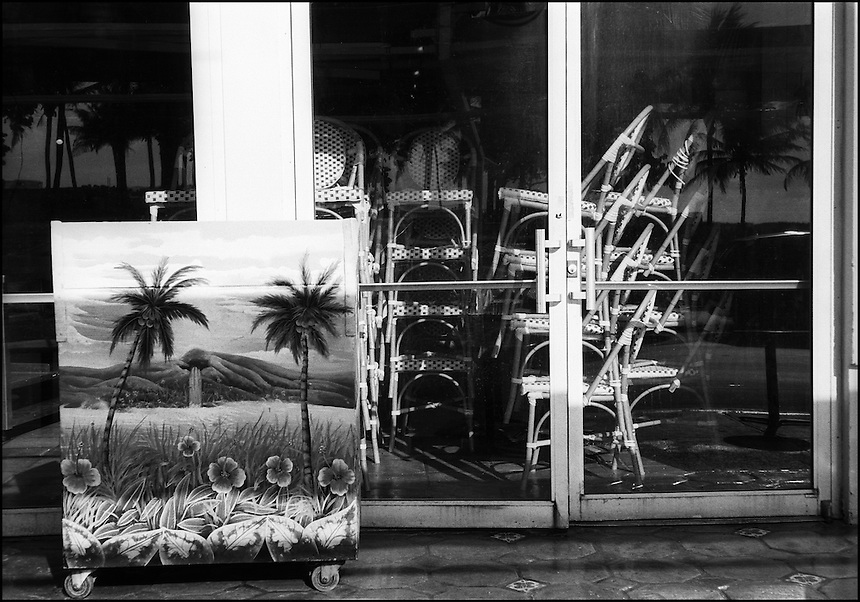 "From ""Miami in Black and White"" series. Miami Beach, FL, 2009"