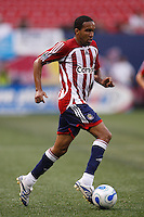 CD Chivas USA forward (11) Maykel Galindo. CD Chivas USA defeated the New York Red Bulls 2-0 in an MLS regular season match at Giants Stadium, East Rutherford, NJ, on July 26, 2007.