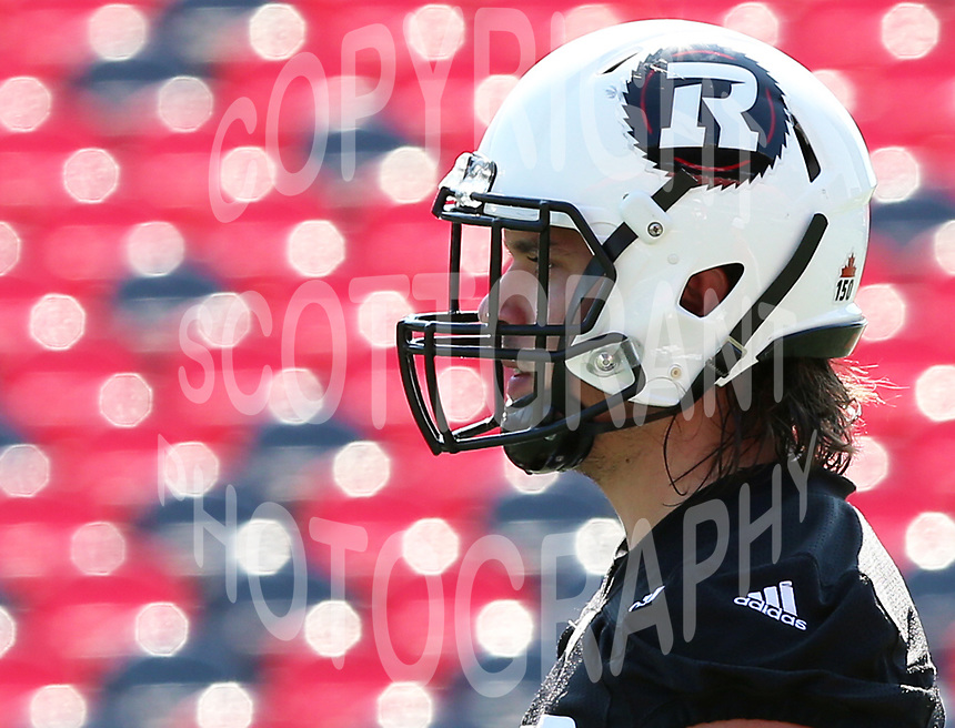 Louis-Philippe Bourassa-Ottawa RedBlacks-14sept2017: Photo: Scott Grant