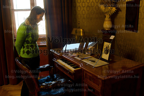 Exhibition in the Ferenc Liszt Museum set up in a flat the composer formerly lived in Budapest, Hungary on January 22, 2011. ATTILA VOLGYI