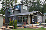 Cottage architecture, Chico Beach Cottages, New Construction, May 10, 2011, built green, cottage houses, by the Cottage Company,  Linda Pruitt, Developer, Wenzlau Architects, Silverdale, Dyes Inlet, Seattle, Washington, Pacific Northwest, USA,