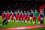 during the World Cup Qualifying Group F match at Hampden Park Stadium, Glasgow. Picture date 4th September 2017. Picture credit should read: Craig Watson/Sportimage