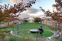 A view of the darden School of Business at the University of Virginia.  Photo/Andrew Shurtleff