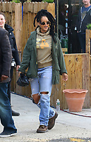 www.acepixs.com<br /> <br /> May 4 2017, New York City<br /> <br /> Actress and singer Rihanna was on the Brooklyn set of the new movie 'Oceans Eight' on May 4 2017 in New York City<br /> <br /> By Line: Zelig Shaul/ACE Pictures<br /> <br /> <br /> ACE Pictures Inc<br /> Tel: 6467670430<br /> Email: info@acepixs.com<br /> www.acepixs.com