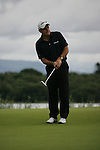 Paul McGinley finishing off his putt on the 10th on the final day of the 3 Irish Open, at the Killarney Golf and Fishing Club, Killarney, Ireland.Picture Fran Caffrey/www.golffile.ie.