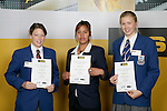 Lawn Bowls Girls Finalists. ASB College Sport Young Sportsperson of the Year Awards 2006, held at Eden Park on Thursday 16th of November 2006.<br />