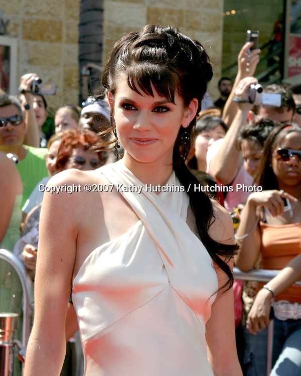 Rachel Melvin.Daytime Emmys 2007.Kodak Theater.Los Angeles, CA.June 15, 2007.©2007 Kathy Hutchins / Hutchins Photo....