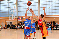Basketball NZ U13 Central Regional Championships at Walter Nash Centre, Lower Hutt, New Zealand on Friday 12 October  2018. <br /> Photo by Masanori Udagawa. <br /> www.photowellington.photoshelter.com