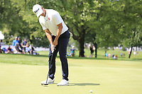 Adam Scott (AUS) takes his putt on the 10th green during Saturday's Round 3 of the WGC Bridgestone Invitational 2017 held at Firestone Country Club, Akron, USA. 5th August 2017.<br /> Picture: Eoin Clarke | Golffile<br /> <br /> <br /> All photos usage must carry mandatory copyright credit (&copy; Golffile | Eoin Clarke)