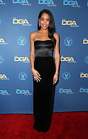 LOS ANGELES, CA - FEBRUARY 2: Laura Harrier at the 71st Annual DGA Awards at the Hollywood &amp; Highland Center's Ray Dolby Ballroom  in Los Angeles, California on February 2, 2019. <br /> CAP/MPIFS<br /> &copy;MPIFS/Capital Pictures
