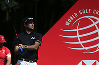 Bubba Watson (USA) on the 9th tee during the final round of the WGC HSBC Champions, Sheshan Golf Club, Shanghai, China. 03/11/2019.<br /> Picture Fran Caffrey / Golffile.ie<br /> <br /> All photo usage must carry mandatory copyright credit (© Golffile | Fran Caffrey)