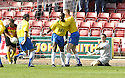 01/09/2007       Copyright Pic: James Stewart.File Name : sct_jspa05_partick_v_hamilton.RICHARD OFFIONG CELEBRATES AFTER HE SCORES HAMILTON'S SECOND....James Stewart Photo Agency 19 Carronlea Drive, Falkirk. FK2 8DN      Vat Reg No. 607 6932 25.Office     : +44 (0)1324 570906     .Mobile   : +44 (0)7721 416997.Fax         : +44 (0)1324 570906.E-mail  :  jim@jspa.co.uk.If you require further information then contact Jim Stewart on any of the numbers above........