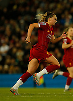 17th November 2019; Anfield, Liverpool, Merseyside, England; Womens Super League Footballl, Liverpool Women versus Everton; Melissa Lawley of Liverpool FC Women - Editorial Use