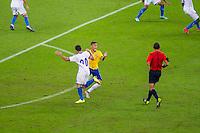 PORTO ALEGRE, RS, 10.06.2015 – BRASIL-HONDURAS – Neymar do Brasil durante partida contra o Honduras, em amistoso internacional no Estádio Beira Rio na cidade de Porto Alegre nesta quarta-feira, 10 (Foto: Carlos Ferrari/Brazil Photo Press)