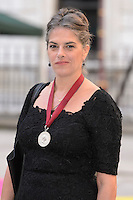 Tracey Emin at the Royal Academy of Arts Summer Exhibition 2015 at the Royal Academy, London. <br /> June 3, 2015  London, UK<br /> Picture: Dave Norton / Featureflash