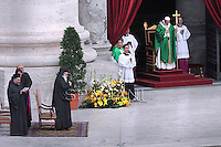 Pope Francis  patriarca di Antiochia Youhanna X during Holy Mass on the occasion of the Day for Catechists at St Peter's square at the Vatican.September 29, 2013