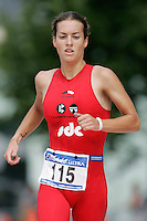 06 AUG 2006 - LONDON, UK - Yvette Grice - London Triathlon. (PHOTO (C) NIGEL FARROW)