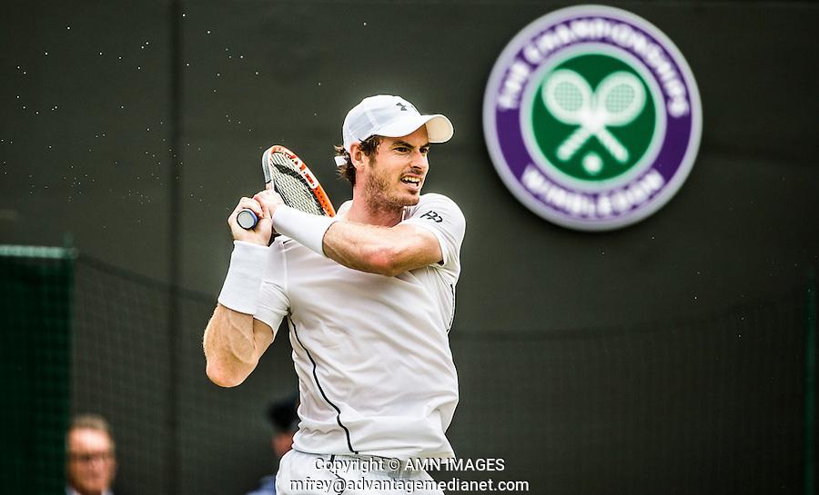 STAN WAWRINKA (SUI)<br /> <br /> TENNIS - THE CHAMPIONSHIPS - WIMBLEDON 2015 -  LONDON - ENGLAND - UNITED KINGDOM - ATP, WTA, ITF <br /> <br /> &copy; AMN IMAGES