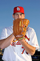 Mar 01, 2010; Jupiter, FL, USA; St. Louis Cardinals pitcher Adam Ottavino (75) during  photoday at Roger Dean Stadium. Mandatory Credit: Tomasso De Rosa/ Four Seam Images